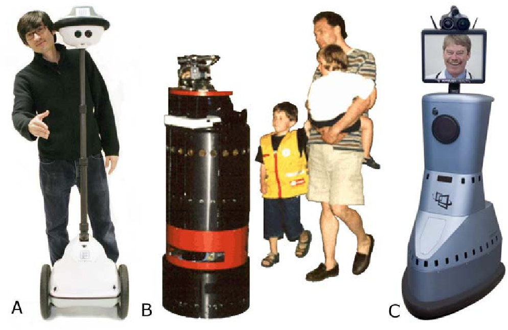Figure 1 for Telerobotic Pointing Gestures Shape Human Spatial Cognition
