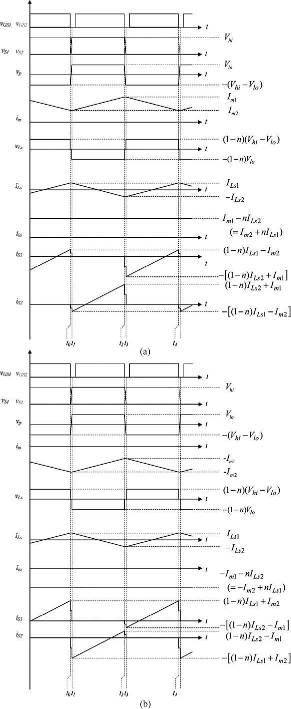Nonisolated Bidirectional Zero Voltage Switching Dcdc Converter Power Supply Circuit Diagram Semantic Scholar