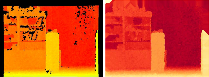 Figure 4 for Modelling depth for nonparametric foreground segmentation using RGBD devices