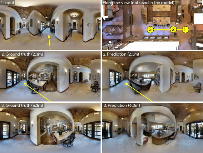 Figure 1 for Pathdreamer: A World Model for Indoor Navigation