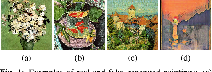 Figure 1 for Fake Generated Painting Detection via Frequency Analysis