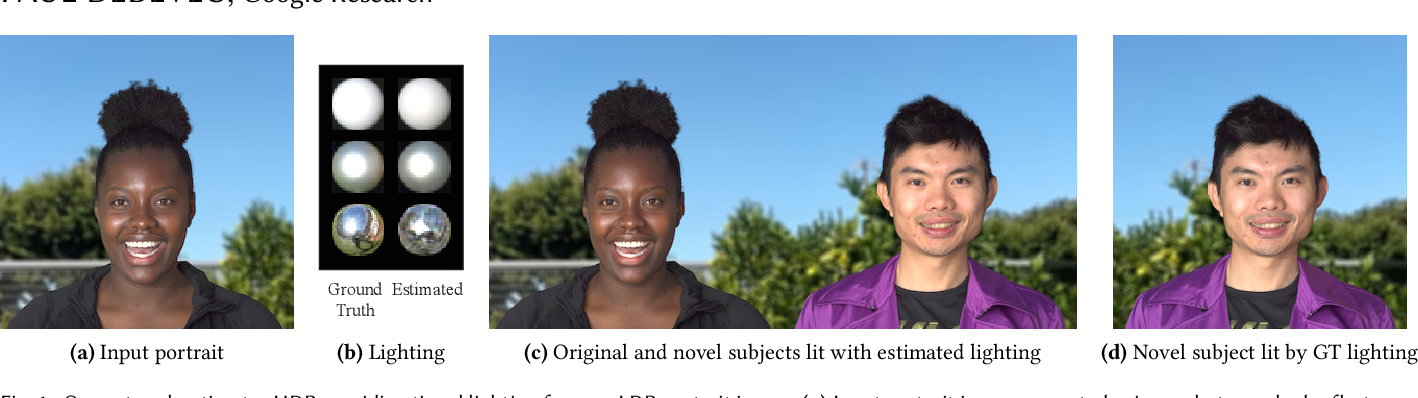Figure 1 for Learning Illumination from Diverse Portraits