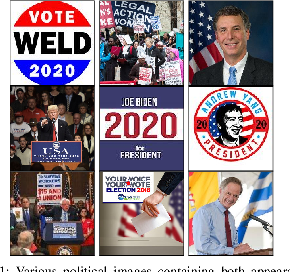 Figure 1 for Political Posters Identification with Appearance-Text Fusion
