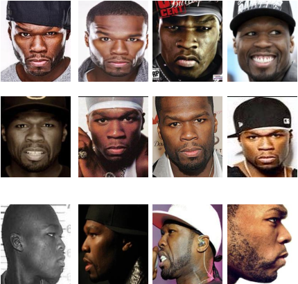 Figure 3 for A Proximity-Aware Hierarchical Clustering of Faces