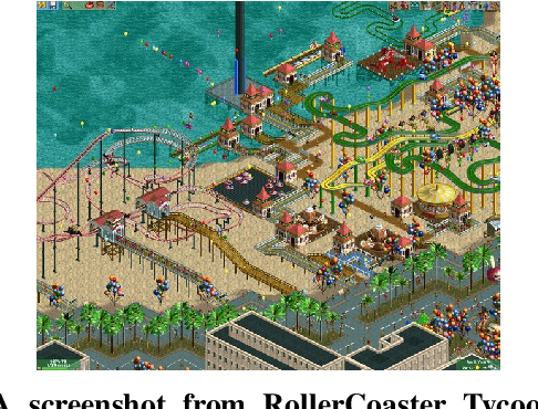 Figure 1 for Exploring open-ended gameplay features with Micro RollerCoaster Tycoon