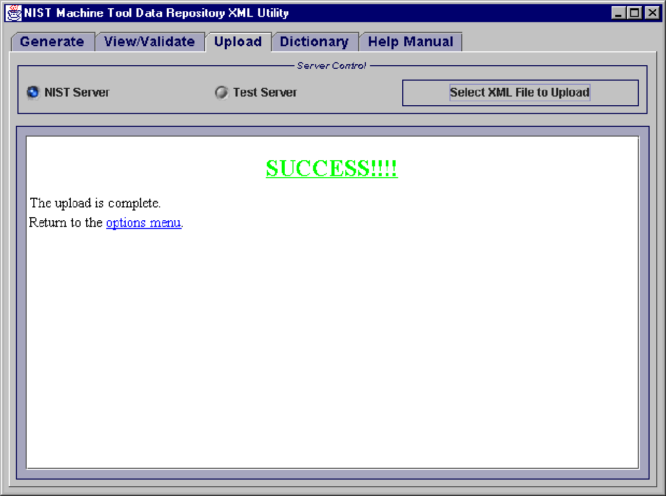 Figure 3 from Java-Based XML Utility for the NIST Machine