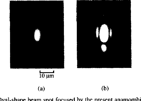 Fabrication of two-sided anamorphic microlenses and direct coupling