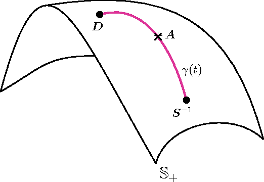 Figure 1 for Geometric Mean Metric Learning
