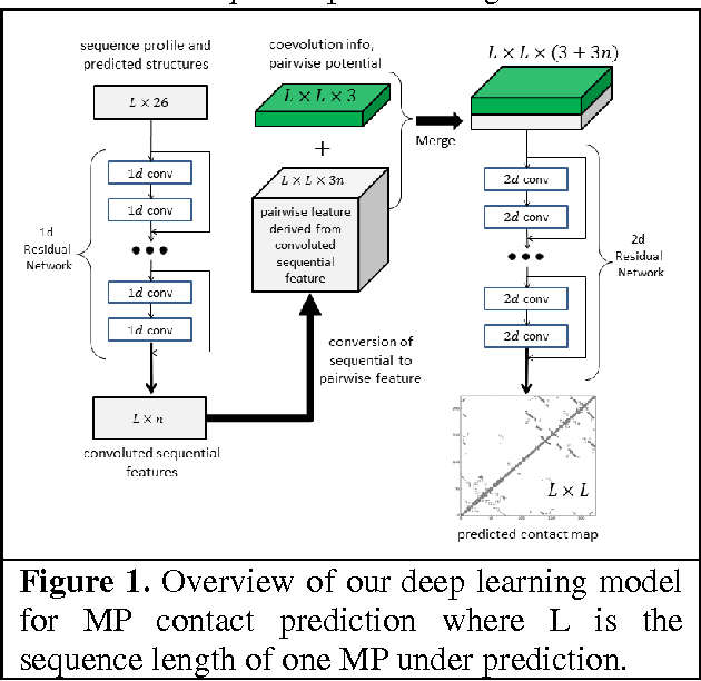 Figure 1 for Predicting membrane protein contacts from non-membrane proteins by deep transfer learning
