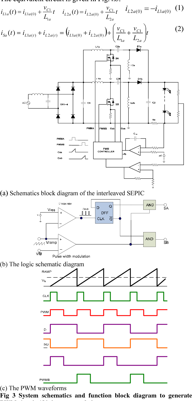 Single Stage Offline Sepic Converter With Power Factor Correction To Puma 5 Block Diagram Figure 3
