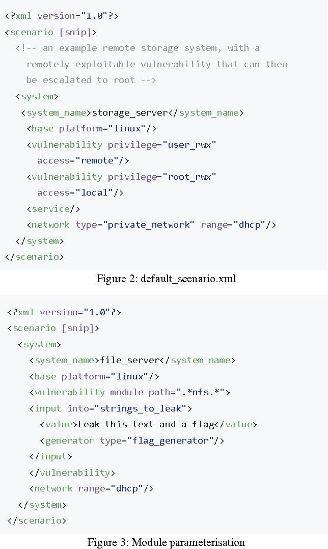 PDF] Security Scenario Generator (SecGen): A Framework for