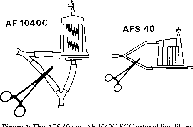 A Comparison Of A Heparin Coated And A Non Coated Ecc Arterial Line