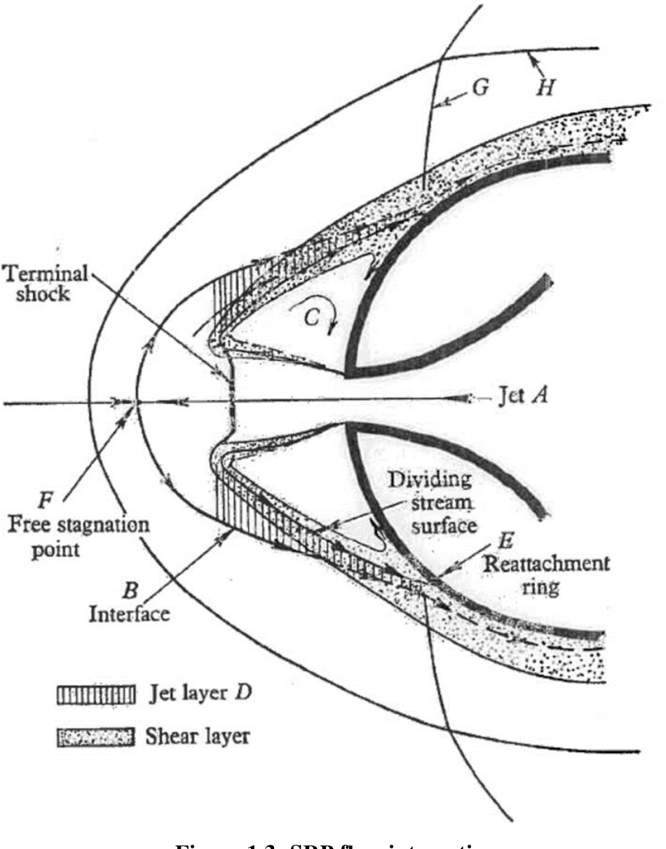 Figure 1.3- SRP flow interactions