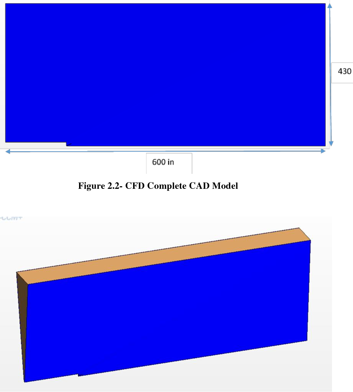 Figure 2.2- CFD Complete CAD Model