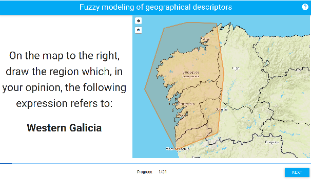 Figure 1 for Meteorologists and Students: A resource for language grounding of geographical descriptors