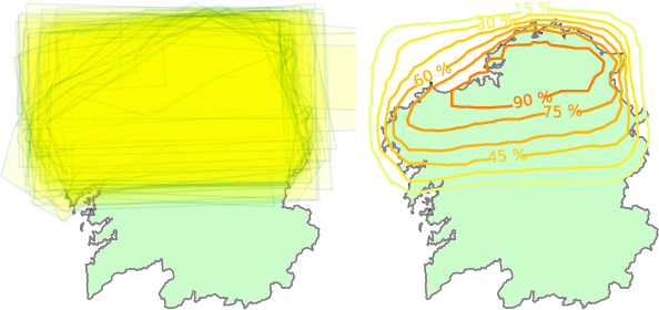 Figure 3 for Meteorologists and Students: A resource for language grounding of geographical descriptors