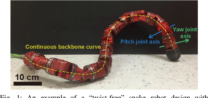 Figure 1 for Reconstruction of Backbone Curves for Snake Robots
