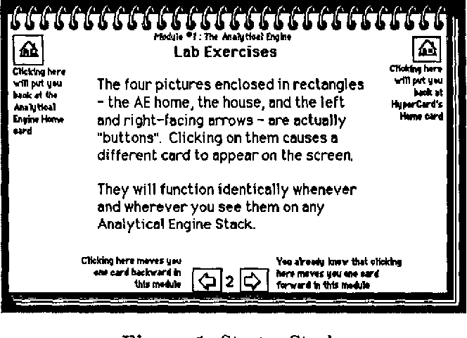 A survey course in computer science using HyperCard