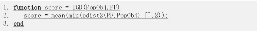 Figure 3 for PlatEMO: A MATLAB Platform for Evolutionary Multi-Objective Optimization