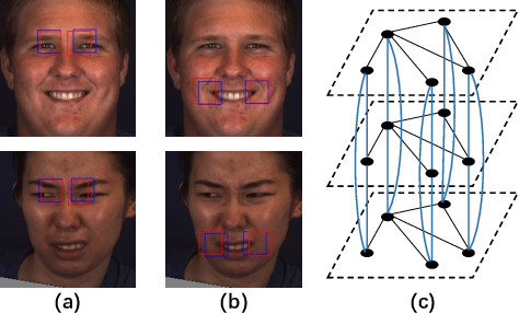 Figure 1 for Multi-Level Adaptive Region of Interest and Graph Learning for Facial Action Unit Recognition