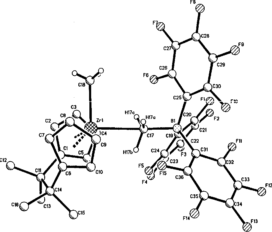 Figure 3 From Binuclear Zirconocene Cations With J 1 Ch 3 Bridges