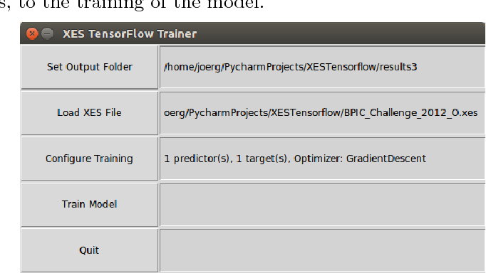 PDF] XES Tensorflow - Process Prediction using the Tensorflow Deep