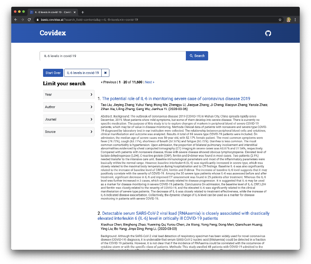 Figure 1 for Rapidly Deploying a Neural Search Engine for the COVID-19 Open Research Dataset: Preliminary Thoughts and Lessons Learned