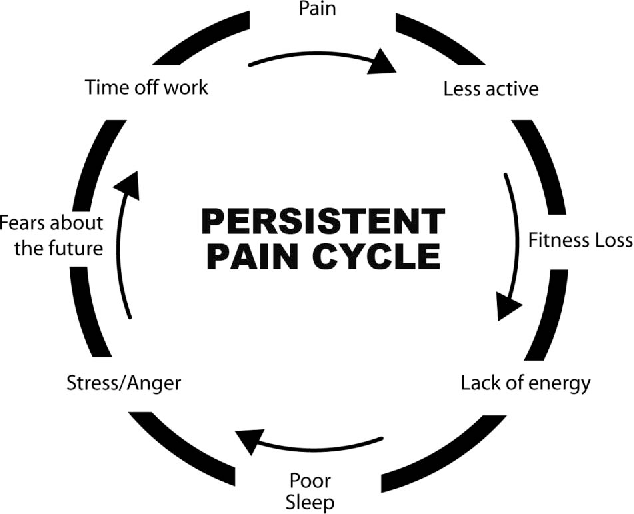 figure 1 the persistent pain cycle