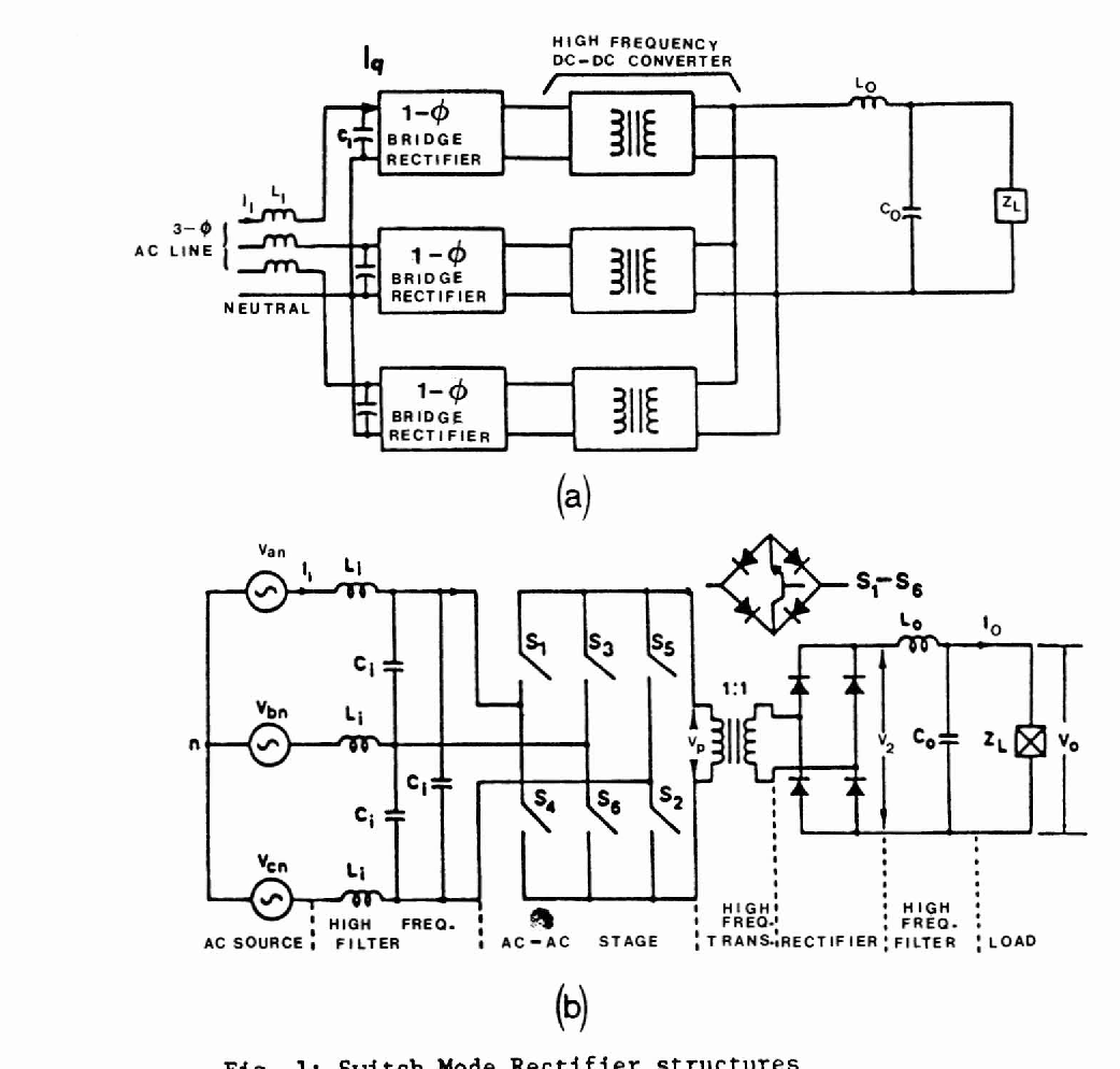 A 3 Phase Inductor Fed Smr Converter With High Frequency Isolation Diagram Of Bridge Components Bing Images Power Density And Improved Factor Semantic Scholar