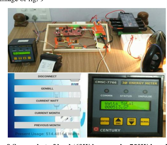 Figure 9 from IOT based Energy Meter Monitoring using ARM Cortex M4