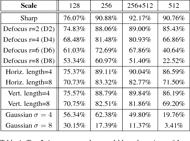 Figure 2 for Examining the Impact of Blur on Recognition by Convolutional Networks