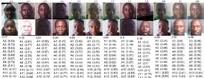 Figure 4 for CASIA-Face-Africa: A Large-scale African Face Image Database
