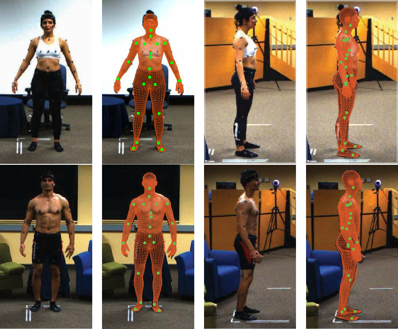 Figure 1 for MoVi: A Large Multipurpose Motion and Video Dataset