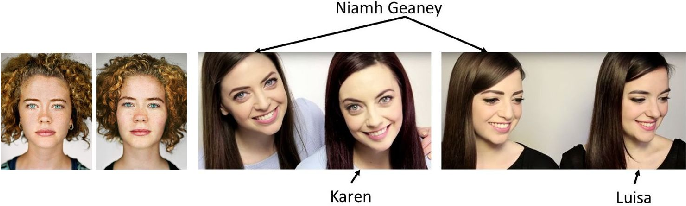 Figure 2 for How Unique Is a Face: An Investigative Study