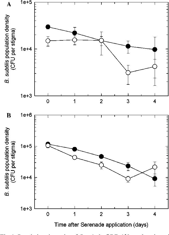 Figure 1 from Serenade biofungicide ( Bacillus subtilis ) on