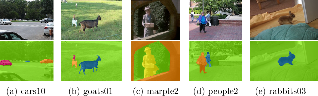 Figure 3 for A Detailed Rubric for Motion Segmentation