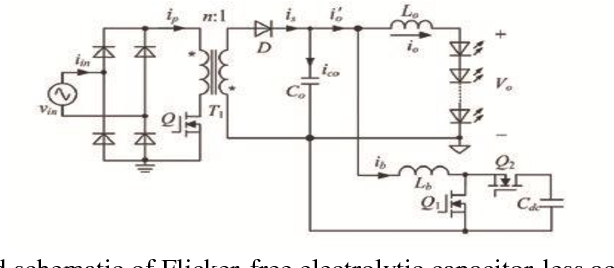 PDF] Design of Flicker-Free Electrolytic Capacitor-Less AcDc Led
