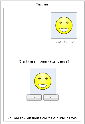 Easy attendance: location-based authentication for students
