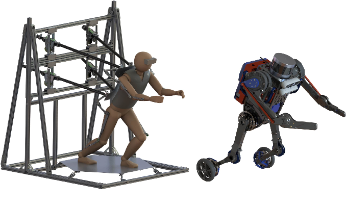 Figure 1 for A Comparison Between Joint Space and Task Space Mappings for Dynamic Teleoperation of an Anthropomorphic Robotic Arm in Reaction Tests