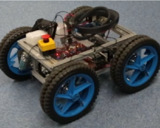 Figure 2 for Offline and Online calibration of Mobile Robot and SLAM Device for Navigation