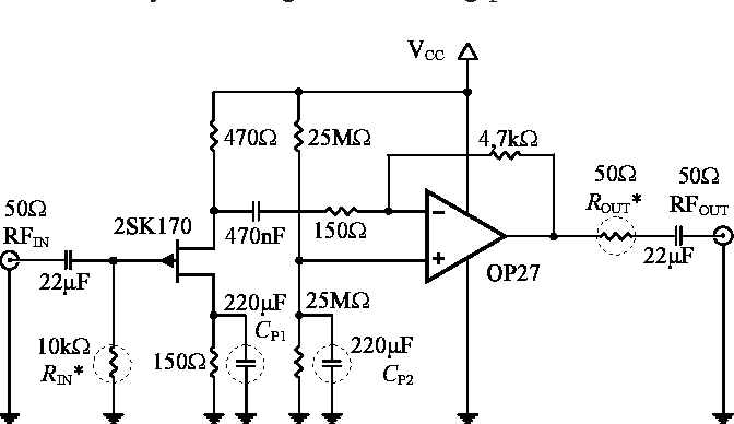 Figure 1 from High gain RF amplifier for very low frequency receiver