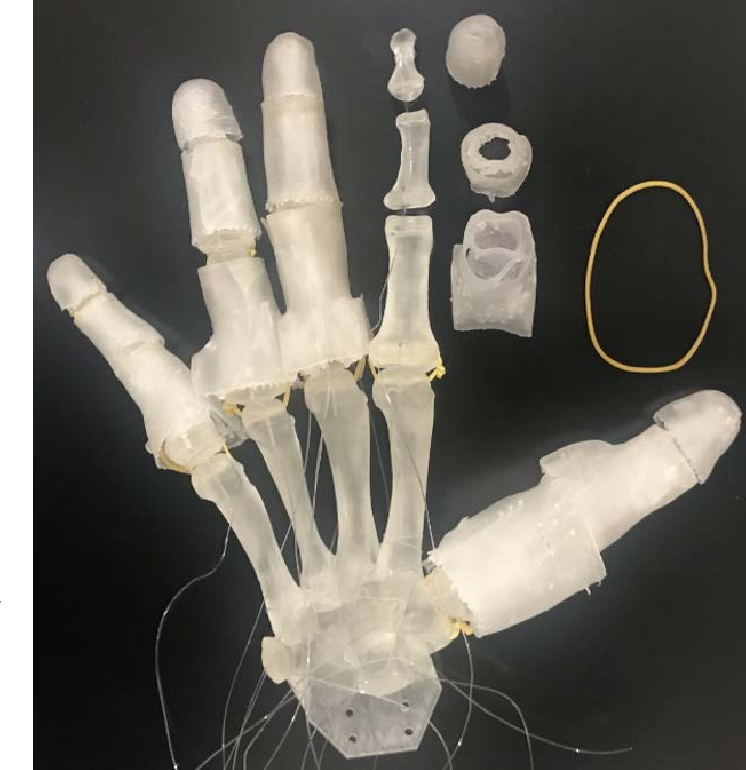 Figure 1 for Fast 3D Modeling of Anthropomorphic Robotic Hands Based on A Multi-layer Deformable Design