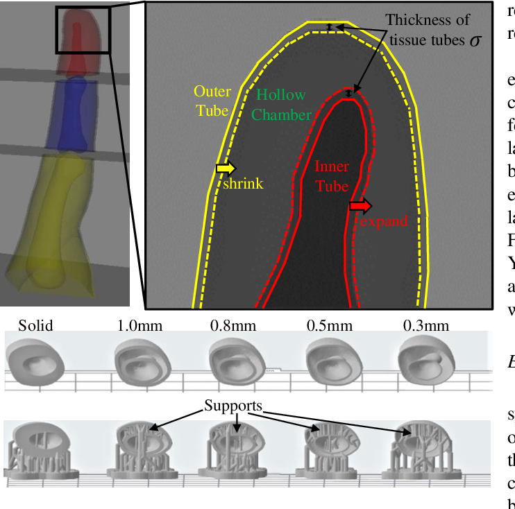 Figure 3 for Fast 3D Modeling of Anthropomorphic Robotic Hands Based on A Multi-layer Deformable Design