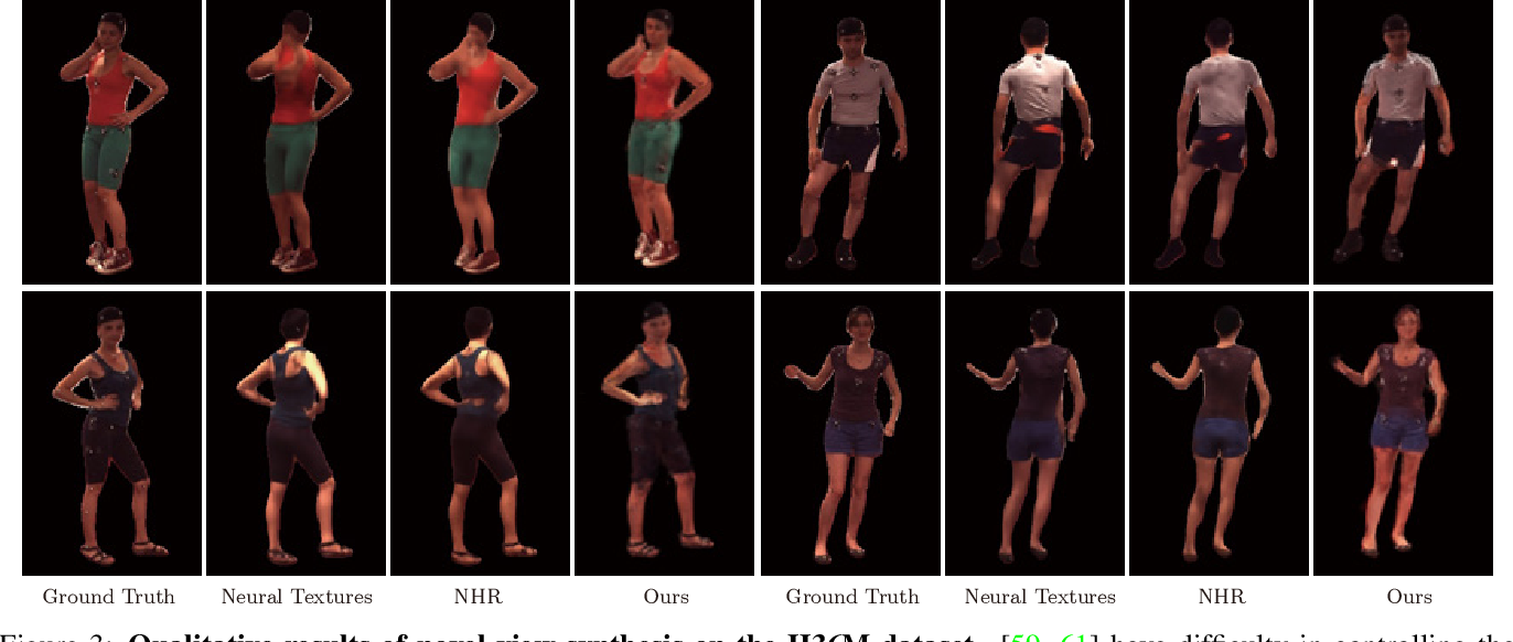 Figure 4 for Animatable Neural Radiance Fields for Human Body Modeling