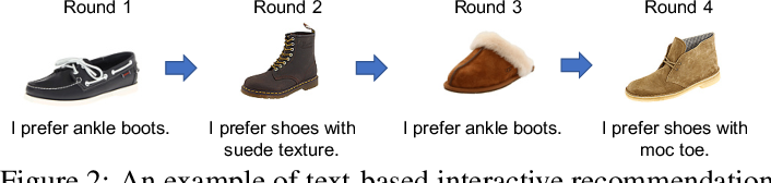 Figure 3 for Reward Constrained Interactive Recommendation with Natural Language Feedback