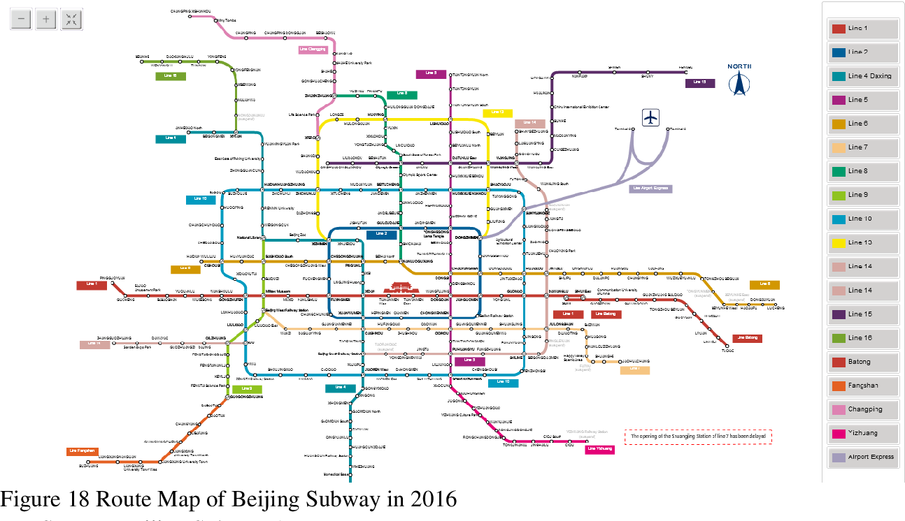 2017 Beijing Subway Map.Figure 18 From Transit Oriented Development Tod For Urban