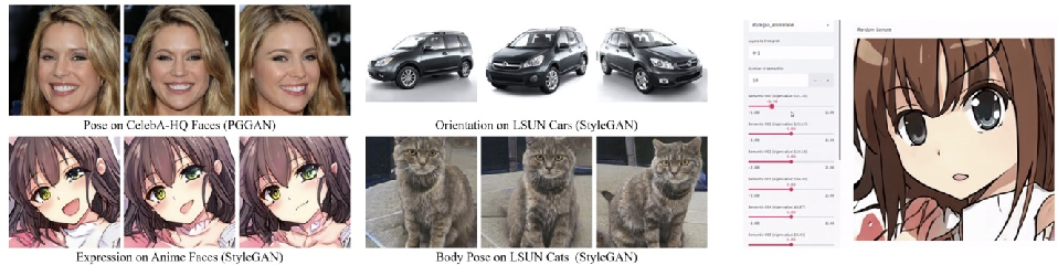 Figure 4 for Interpreting Generative Adversarial Networks for Interactive Image Generation