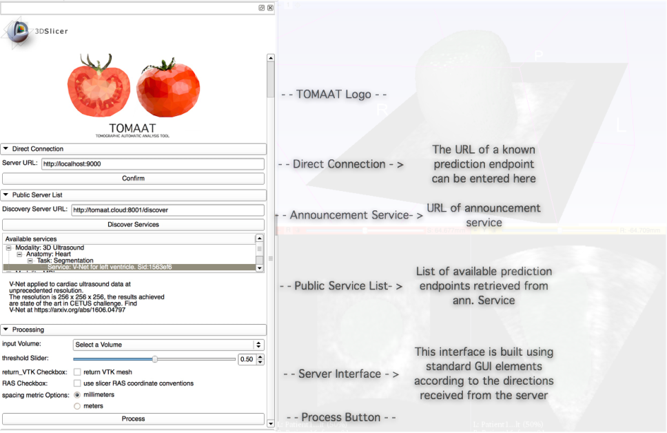 Figure 3 for TOMAAT: volumetric medical image analysis as a cloud service