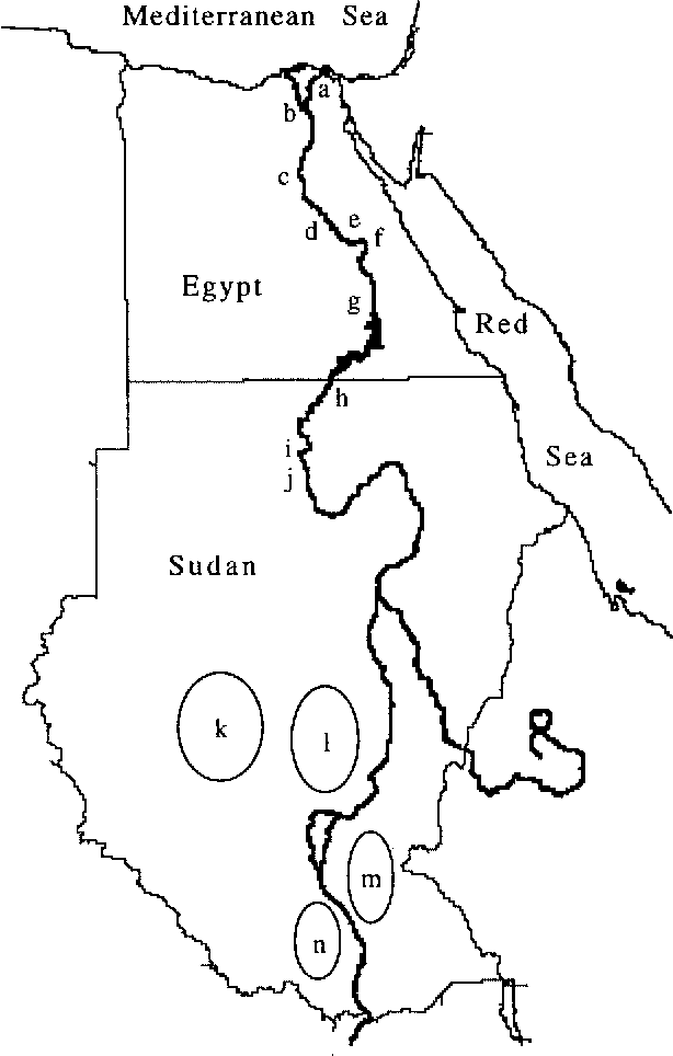 Figure 1 From Mtdna Analysis Of Nile River Valley Populations A
