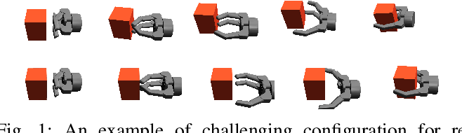Figure 1 for Reaching, Grasping and Re-grasping: Learning Multimode Grasping Skills